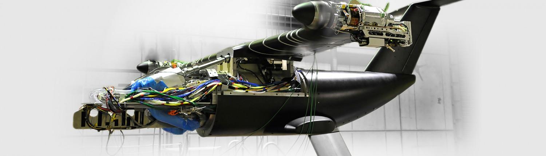 Tilt-rotor wind tunnel model - NICETRIP
