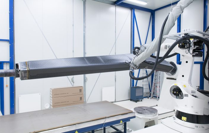 NLR designs large composite aircraft part