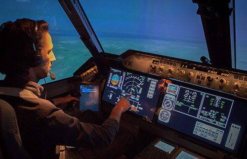 Touchscreen and smart apps help pilots into the future