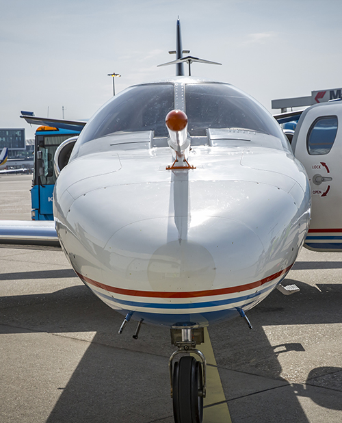 NLR Cessna Citation research aircraft - detail nose boom